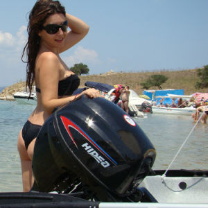 Marine Outboard Motor 9.8 Horsepower Motor 2 Stroke pictures & photos