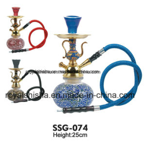 Luxury Colour Glass Base Zinc Alloy Starbuzz Portable Hookah pictures & photos