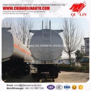 3 Axles 20000 Liters Tank Semi Trailer for Sulfuric Acid Loading pictures & photos