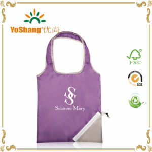Printing Acceptable Nylon Polyester Foldable Shopping Bag pictures & photos