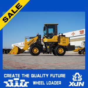 Hot Sale 1.4ton Quick Coupler Quick Hitch Wheel Loader with Log Grabber pictures & photos