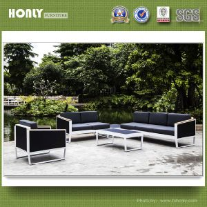 Modern Hotel Furniture Outdoor Sofa Aluminium Frame Mesh Sofa Set