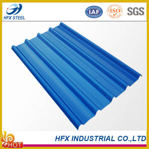 Trapezoidal Corrugated Ibr Steel Roofing Sheet with Color Coated