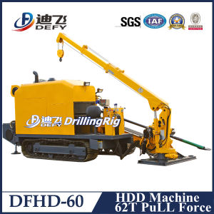 Dfhd-60 60t Pull Force Horizontal Directional Machine pictures & photos