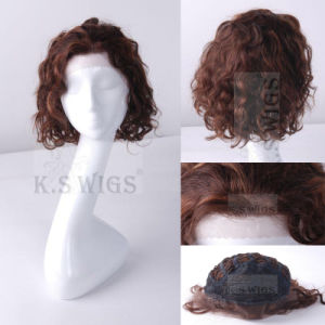 Premium Virgin Hair Human Hair Lace Wig pictures & photos