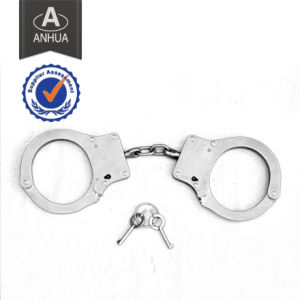 Military Police Double Locking Metal Handcuff pictures & photos