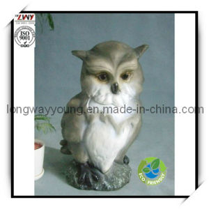 16 Inches Fiberglass Night Owl for Home Decoration (YANM051-16H)