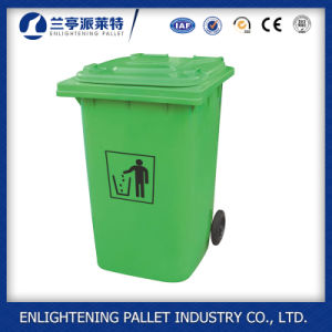 240L HDPE Outdoor Plastic Trash Bin for Sale pictures & photos