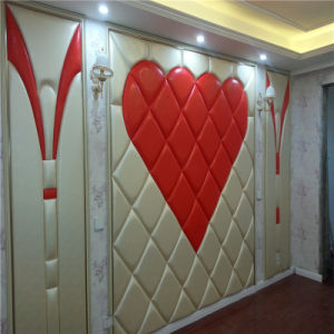 3D Acoustic Wall Panel Decoration Wall Panel Decorative Board PU Leather Soft Sofa pictures & photos