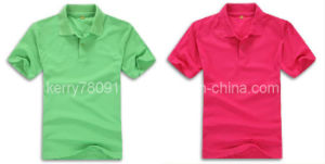 Multicolor Polyester and Cotton Polo Shirt (DH-LH62030) pictures & photos