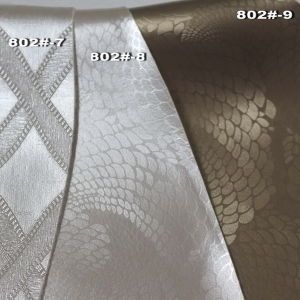 PVC Synthetic Leather for Decoration- (Hongjiu-802#) pictures & photos