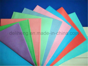 Colourful Cheap Price T/C Plain Dyed Poplin Fabric pictures & photos