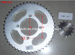 Motorcycle Parts Motorcycle Sprocket Set for YAMAHA Ybr125 pictures & photos