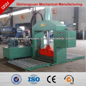 Rubber Bale Cutter/Hydraulic Tire Cutter Equipment /Rubber Sheeting Cutter pictures & photos