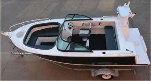 2017 New Design China 5m Bowrider Fishing Boat for Sale pictures & photos