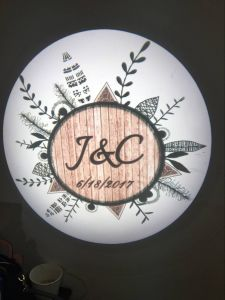 China New Design LED Logo Gobo Projector pictures & photos