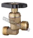 Brass Male Thread Stop Valve with Steel Handle pictures & photos