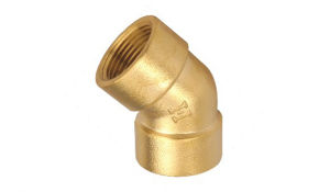 45degree Female Elbow of Brass Pipe Fitting