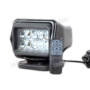 12V 50W Wireless Remote Control Marine LED Search Light pictures & photos