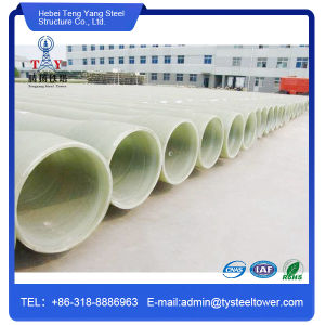 GRP FRP Material Water Drainage GRP Pipe Fitting pictures & photos