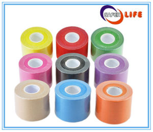 Waterproof Kinesiology Sport Adhesive Tape Kinesio Mueller Strong Bandage Tape pictures & photos