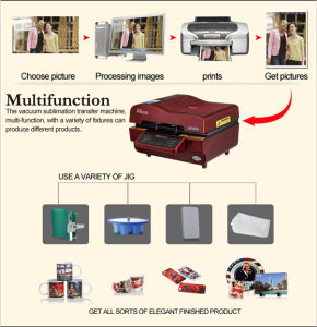 3D Heat Press Printing Machine, 3D Sublimation Machine (ADL) pictures & photos