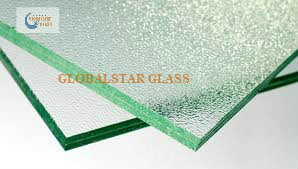 Clear Patterned Laminated Glass/Figured Laminated Glass pictures & photos