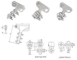 Bolted Strain Clamp Aluminum