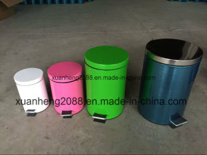 Household Stainless Steel Big Dust Bin pictures & photos