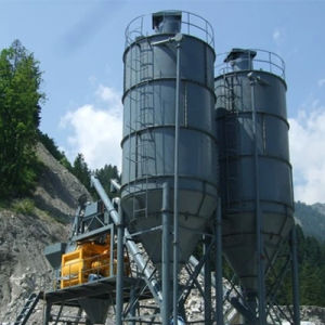 Skip Type Concrete Mixing Plant (HZS75) pictures & photos