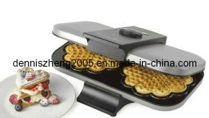 Double Waffle Maker, Belgian Style Waffle Maker, Heart Shapred