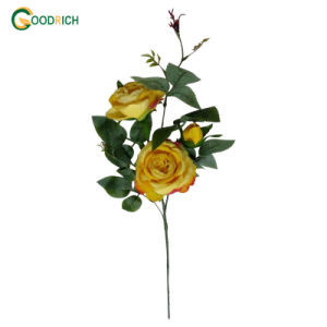 Cheap Rose Bouquet Artificial Flower for Decoration pictures & photos