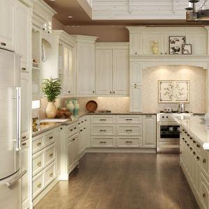 Oak solid wood kitchen cabinets op15 s08 china wood kitchen