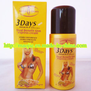 New Arrival 3 Days Slim Miracle Weight Loss Cream (MJ-3DAYS 125g) pictures & photos