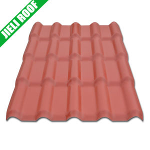 PVC High Rib Corrugated Roofing Tile with Excellent Color Stability pictures & photos
