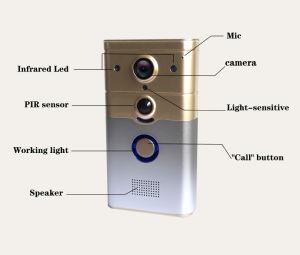 New IR Night Vision Doorphone Video Door Phone Wireless Intercom WiFi Doorbell pictures & photos