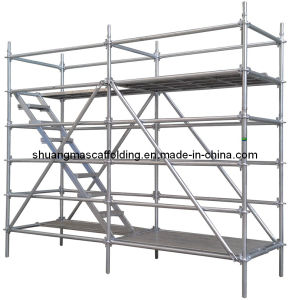 En12810 Construction Platform Steel Quick Lock Scaffolding pictures & photos