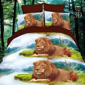 2017 High Quality Animals 3D Bedding Set for Home Comforter Duvet Cover Bedding/Home Bed Set pictures & photos
