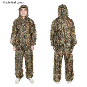 Synthetic Forest Camo Ghillie Suit Huntting Suit Hunting Clothing Cl34-0073 pictures & photos
