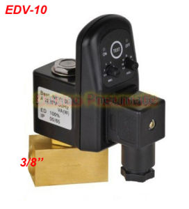 Electric Timer Solenoid Water Drain Valve G3/8′′ Pipeline Water system Control Valves Edv-10 pictures & photos
