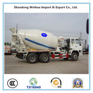 8 Cbm Concrete Mixer Semi Trailer with Size of 9100*2.496*3800mm pictures & photos