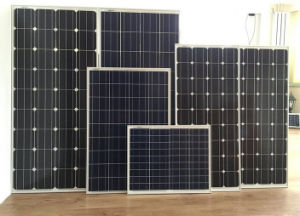 PV Solar Panel 250W 300W 310W Poly and Monocrystalline Silicon pictures & photos