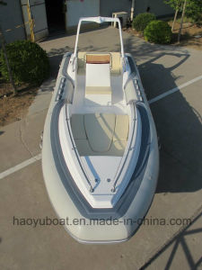 5.8m Inflatable Rib Boat, Fishing Boat Rescue Boat, Sport Motor Boat for Sale pictures & photos