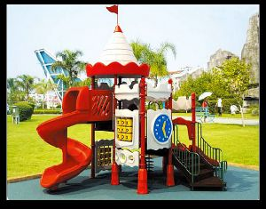 2015 CE/GS/TUV Certificated Outdoor Plastic Playground Castle Lt-2047e