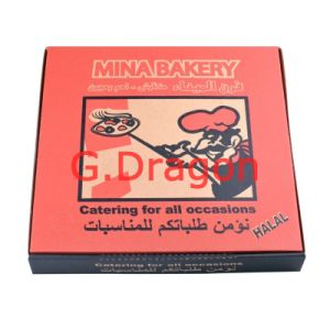 Pizza Boxes, Corrugated Bakery Box (PIZZ-016) pictures & photos