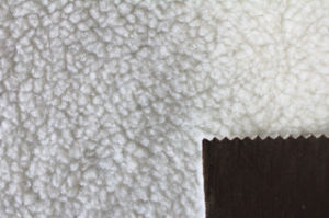 Fabric Bonding Sherpa Fur pictures & photos