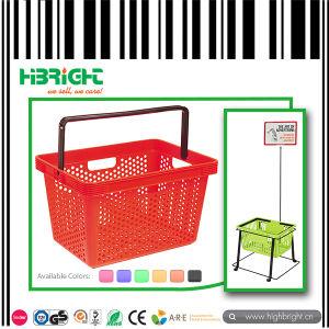 Virgin PP Stackable Supermarket Shopping Basket pictures & photos