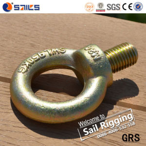 Zinc Plated Carbon Steel JIS 1168 Drop Forged Eye Bolt pictures & photos