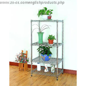 Adjustable Chrome Heavy Duty Greenhouse Storage Wire Rack pictures & photos