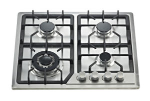 Build-in Gas Cooker Hob with Stainless Steel Top and Four Buners Sn-614A pictures & photos